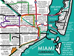 Miami International Airport Terminal Map by Miami Neighborhood Culture Map Canvas Tote Miami And Culture