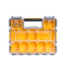 dewalt 10 compartment deep pro small parts organizer dwst14825