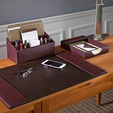 Modern Desk Sets Desk Accessories Set Office And Depot Organizer Regarding Prepare