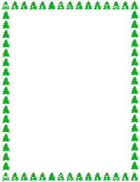 christmas lights clipart page border pencil and in color