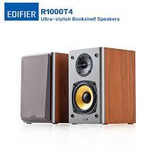 edifier r1000t4 ultra stylish bookshelf speaker with