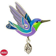 of birds hummingbird mini ornament keepsake ornaments