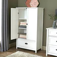 tall thin armoire wardrobe closet storage clothes cabinet bedroom