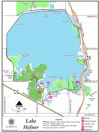 Oklahoma City Map Lake Hefner Oklahoma City Audubon Society