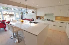 kitchen island white white gloss kitchen island modern kitchen by lwk