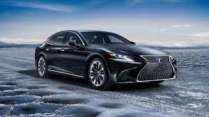 lexus van lexus ls 500h luxueuze hybride limousine