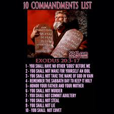 10 commandments list kids videos learn the ten commandments