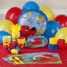 personalized party supplies personalized clifford party supplies from birthday expressions