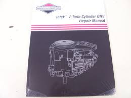 briggs u0026 stratton engine ohv repair manual 273521 new u2022 29 95