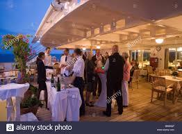 cocktail party on board cruiseship ms hanseatic near madagascar