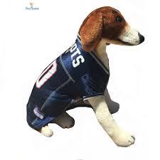 nfl pet fan gear new england patriots jersey shirt tank for dog