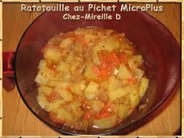 recette de cuisine tupperware ratatouille au pichet microplus chez mireille d