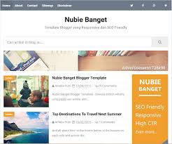 nubie banget high ctr responsive blogger template