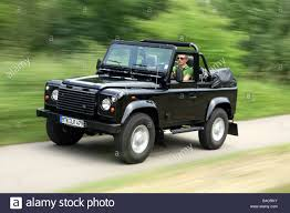 land rover convertible land rover defender convertible two td5 model year 2006 black