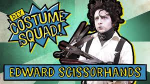 Edward Scissorhands Costume Make Your Own Edward Scissorhands Costume Diy Costume Squad