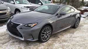 used 2015 lexus rc f new grey on red 2015 lexus rc 350 2dr cpe awd review canada youtube