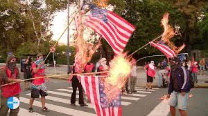 Is Flag Burning Protected By The First Amendment Flag Burning And Anthems For America