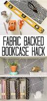 Ikea Fabric The Simple Way To Add Style To Your Bookcase On A Budget