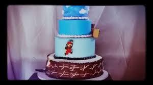 mario level 1 1 on a cake youtube