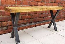 Industrial Bench Seat Dining Room Benches Ebay