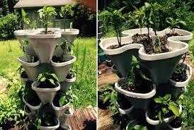mr stacky vertical 5 tier strawberry herb flower planter