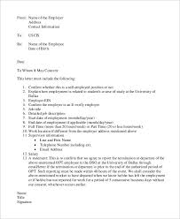employment verification letter immigration the letter sample