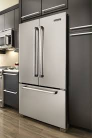 Kitchenaid Counter Depth French Door Refrigerator Stainless Steel - kitchenaid kfcp22exmp 21 8 cu ft counter depth french door
