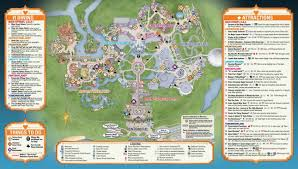 Florida Dca Map by Early Look At Map For Mickey U0027s Not So Scary Halloween Party