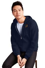 sweatshirts u0026 fleece heavy full zip hooded sweatshirt gildan