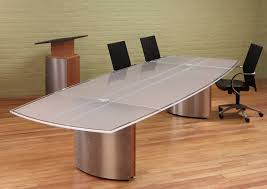 Large White Meeting Table White Glass Boardroom Table White Glass Top Conference Table