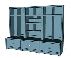 Entryway Locker System Ana White Entryway Mail Sort And Charging Hutch Diy Projects
