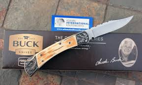 engraved buck knives custom aik buck d a auto w mammoth ivory engraving filework