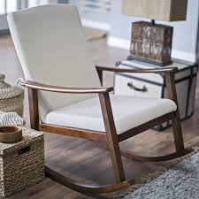 Modern Nursery Rocking Chair by Belham Living Holden Modern Indoor Rocking Chair Nursery Gliders