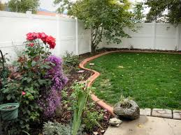 magnificent flower bed edging ideas with stone front yard patio