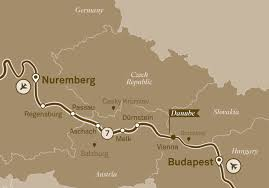 Passau Germany Map by Upriver Or Downriver On The Danube Or The Rhine What If Any Is