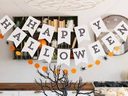halloween banners kids halloween party decorations