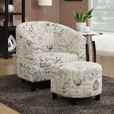 Fabric Armchairs And Ottomans Black Chairs You U0027ll Love Wayfair