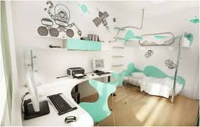 Teen Bedroom Ideas With Bunk Beds Bedroom Cute Rooms With Wall Decals And Floating Shelves Also