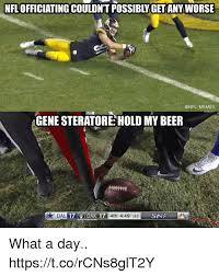 Meme Gene - nfl officiating couldn t possibly get any worse memes gene steratore