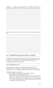 lesson 8 capital gains