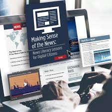 News Making Sense Of The News News Literacy Lessons For Digital