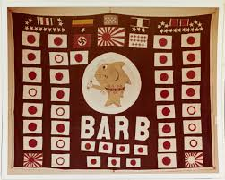 Japan War Flag Flag Friday Why A Train Is On The Battle Flag Of Uss Barb The