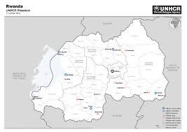 Rwanda Map Unhcr U0027s Presence In Rwanda Rwanda U2014 Unhcr Rwanda