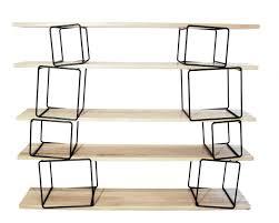 Modular Furniture Design Furniture Mesmerizing Modular Bookshelves With Black Iron Cube