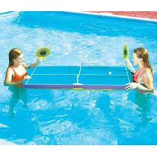 floating table for pool swimming floating ping pong table swimming pool toy walmart com