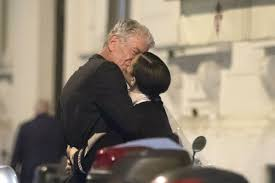 anthony bourdain and girlfriend asia argento spotted kissing in