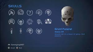 Halo 3 Blind Skull Grunt Funeral Halo Nation Fandom Powered By Wikia