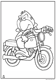 motorcycle coloring pages 01