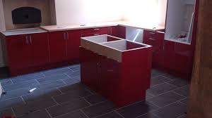 Plan De Travail Central Cuisine Ikea by Cuisine Fini Renovation D U0027une Fermette En Bourgogne