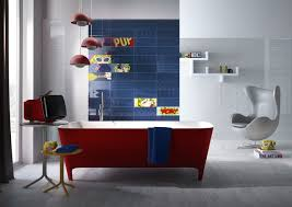Pop Interior Design by Tiles Inspired By The Pop Art Of Roy Lichtenstein Design Milk